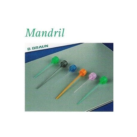 MANDRIL/STYLET INTROCAN 18G, 1 1/4""