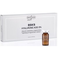 HYALURONIC ACID 3% 5 viales x 5 ml.