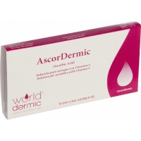 AscorDermic,  10 ampollas de 2 ml.